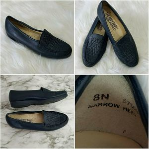 Hush Puppies  Comfort Shoe Slip On Body Shoe Blue